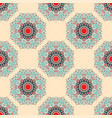 mandalasseamless pattern vintage decorative vector image vector image
