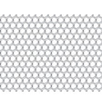 metal grid with cells vector image