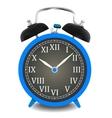 Realistic of wall clock vector image vector image