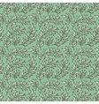Seamless pattern decorative branches vector image vector image