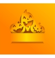 Stickers for Halloween vector image