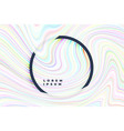 abstract holographic lines wavy background