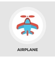 Airplane Flat Icon vector image vector image
