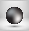 black bubble icon badge with light background vector image vector image