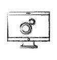 computer icon image vector image vector image