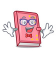 Geek diary character cartoon style