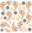 paisley colorful gentle seamless pattern it is vector image