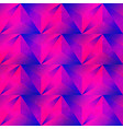 purple triangle seamless pattern vector image vector image