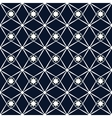 Rhombus and star seamless pattern vector image vector image