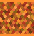 seamless pattern with ovals roof tiles vector image vector image