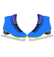 skates for figure skaters vector image
