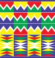 tribal kente geometric seamless pattern african vector image vector image