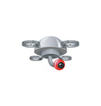 Drone with camera vector image vector image