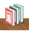 interesting book to expand of knowledge vector image vector image