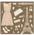 Paris fashion set