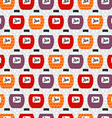 Seamless Pattern with Jam Jars Background Texture vector image vector image