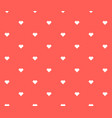 seamless pixel heart background vector image
