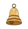 single bell icon image vector image vector image