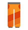 ski pants icon cartoon style vector image