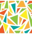 The pattern of geometric shapes vector image