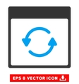 Update Calendar Page Eps Icon vector image vector image