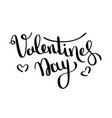 valentines day card happy day vector image