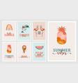 bohemian summer modern summer and vector image