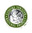 Gardening horticulture logo design vector image