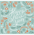 Happy New Years lettering