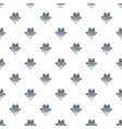 hipster hat pattern seamless vector image vector image