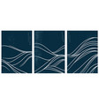 japanese wave pattern with abstract art