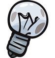 old bulb junk cartoon vector image vector image