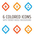 people icons set collection of old woman vector image vector image