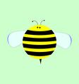 Little Cute Cartoon Bee for Kids vector image