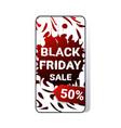 big sale black friday sticker special offer promo vector image vector image