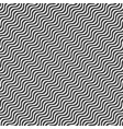 black wavy line pattern on a white background vector image vector image