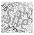 Build Free Traffic To Your Websites text vector image vector image
