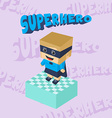 hero character option game assets element vector image