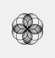 set of impossible and other tattoo shapes dotwork vector image vector image