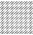 black and white distort checkered abstract vector image vector image