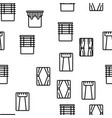 curtain seamless pattern vector image vector image