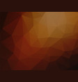 geometric brown abstract background vector image