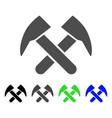 job hammers icon vector image