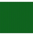 Knitted Seamless Pattern Green vector image