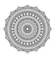 mandala04 vector image vector image