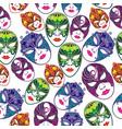 masquerade party masks vector image vector image