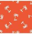 Orange vacation pattern vector image vector image