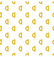 yellow protractor pattern seamless vector image