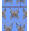 Geo pattern20 vector image vector image