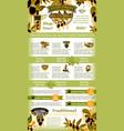 olives poster for olive oil vector image vector image